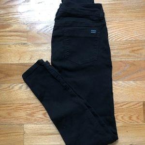 Denim - Bandai Maternity black skinny jeans size US 04